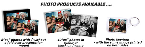 Product range available