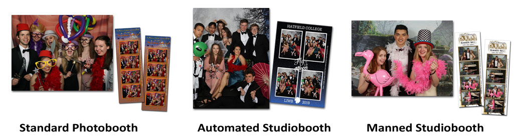 Types of Photobooth